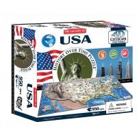 Объемный пазл Соединенные Штаты Америки , 4D CITYSCAPE 40008
