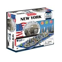 Объемный пазл Нью-Йорк , 4D CITYSCAPE 40010
