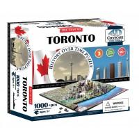 Объемный пазл Торонто, Канада , 4D CITYSCAPE 40016