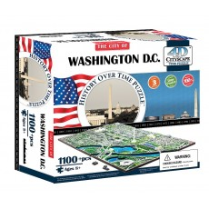 Объемный пазл 4Д город Вашингтон, США , 4D CITYSCAPE 40018