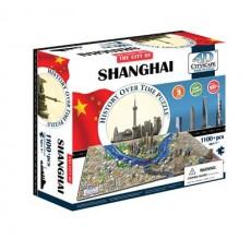 Объемный пазл Шанхай, Китай , 4D CITYSCAPE 40040