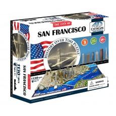 Объемный пазл 4Д город Сан-Франциско, США , 4D CITYSCAPE 40044