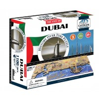 Объемный пазл 4Д город Дубаи, ОАЭ , 4D CITYSCAPE 40046