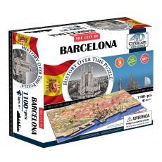 Объемный пазл 4Д город Барселона, Испания , 4D CITYSCAPE 40050
