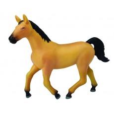 Светло-коричневая лошадь