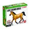 Объемный пазл 3Д Светло-коричневая лошадь, 4D Master 26457