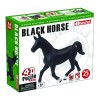 Объемный пазл 3Д Черная лошадь, 4D Master 26481