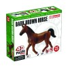Объемный пазл 3Д Темно-коричневая лошадь, 4D Master 26482
