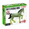Объемный пазл 3Д Лошадь тяжеловоз серая, 4D Master 26528