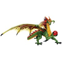 Объемный пазл 3Д Дракон Изумрудный, 4D Master 26842