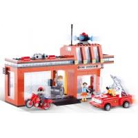 Конструктор Пожарная станция , COBI COBI-1466