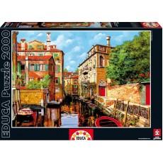 Пазл Виды Венеции Гвидо Борелли, 2000 элементов, EDUCA EDU-16016