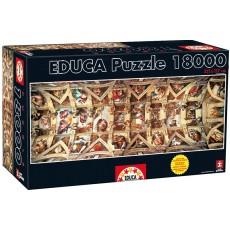 Пазл Сикстинская капелла 18000 элементов, EDUCA EDU-16065