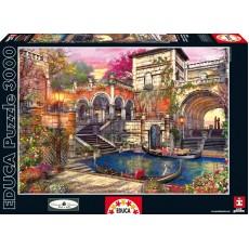 Пазл Романтическая Венеция 3000 элементов, EDUCA EDU-16320