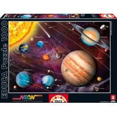 Пазл  Солнечная система 1000 элементов, EDUCA EDU-14461