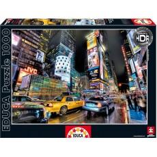 Пазл  Таймс-сквер, Нью-Йорк 1000 элементов, EDUCA EDU-15525