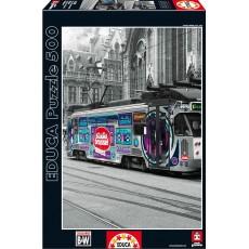 Пазл  Трамвай в Генте 500 элементов, EDUCA EDU-16358