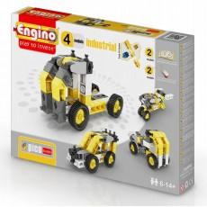 Конструктор Строительная техника, 4 модели, ENGINO PB14