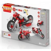 Конструктор Мотоциклы, 12 моделей, ENGINO PB32