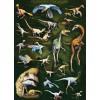 Пазл  Пернатые динозавры 1000 элементов, EuroGraphics 6000-0072