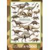 Пазл  Динозавры Мелового периода 1000 элементов, EuroGraphics 6000-0098