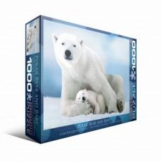 Пазл  Белая медведица с медвежонком 1000 элементов, EuroGraphics 6000-1198