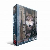 Пазл  Волк 1000 элементов, EuroGraphics 6000-1244