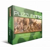 Пазл  Динозавры 750 элементов, EuroGraphics 6005-4650