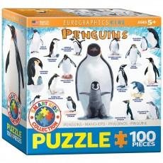 Пазл  Пингвины 100 элементов, EuroGraphics 8100-0044