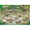 Пазл  Динозавры 100 элементов, EuroGraphics 8100-0098