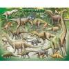 Пазл  Динозавры 100 элементов, EuroGraphics 8104-0098
