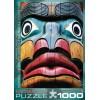 Пазл Тотемный столб Крис Круг, 1000 элементов, EuroGraphics 6000-0243