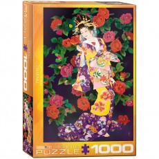 Пазл Цубаки Харуйо Морита, 1000 элементов, EuroGraphics 6000-0743