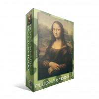 Пазл Мона Лиза Леонардо да Винчи, 1000 элементов, EuroGraphics 6000-1203
