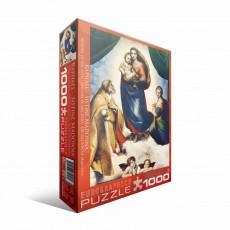 Пазл Сикстинская Мадонна Рафаэль, 1000 элементов, EuroGraphics 6000-1211