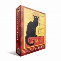 Пазл Черный кот Теофиль-Александр Стейнлен, 1000 элементов, EuroGraphics 6000-1399