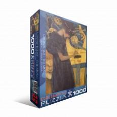 Пазл Музыка Густав Климт, 1000 элементов, EuroGraphics 6000-1991
