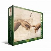 Пазл Сотворение Адама (фрагмент) Микеланджело, 1000 элементов, EuroGraphics 6000-2016