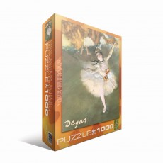 Пазл Балерина Эдгар Дега, 1000 элементов, EuroGraphics 6000-2033