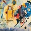 Пазл Желто-красно-синий Василий Кандинский, 1000 элементов, EuroGraphics 6000-3271