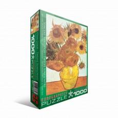 Пазл Двенадцать подсолнухов Винсент ван Гог, 1000 элементов, EuroGraphics 6000-3688