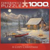Пазл Пазл Уютное Рождество 1000 элементов, EuroGraphics 8000-0608