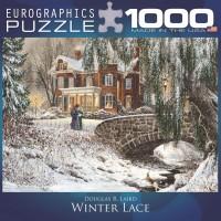 Пазл Пазл Зимние кружева 1000 элементов, EuroGraphics 8000-0611
