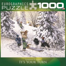 Пазл Пазл Твоя очередь 1000 элементов, EuroGraphics 8000-0613