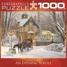 Пазл Пазл Вечерняя прогулка 1000 элементов, EuroGraphics 8000-0614