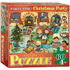 Пазл  Рождественная вечеринка 60 элементов, EuroGraphics 6060-0469