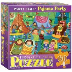 Пазл  Пижамная вечеринка 60 элементов, EuroGraphics 6060-0471