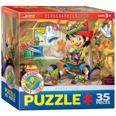 Пазл  Пиноккио 35 элементов, EuroGraphics 8035-0421