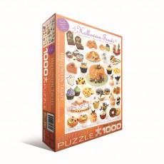 Пазл  Угощения на Хэллоуин 1000 элементов, EuroGraphics 6000-0432