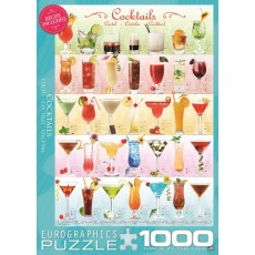 Пазл  Коктейли 1000 элементов, EuroGraphics 6000-0588